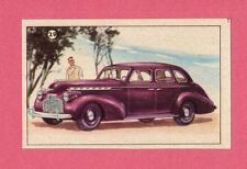 Chevrolet Vintage 1950s Car Collector Card from Sweden