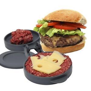 Dexam Swift Stuffed Burger Press BBQ Home Made Cheese Burger Maker Party Food