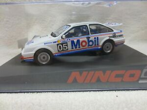 BROCK ATCC CAR FORD SIERRA RS500 NINCO 50610 1:32 SCALE SLOT CAR
