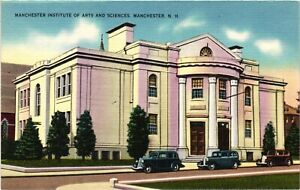 Vintage Postcard - Institute Of Arts & Sciences Manchester New Hampshire #6734