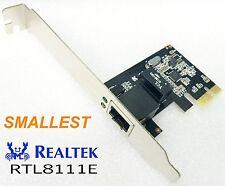 PCI express PCI-e Gigabit 10/100/1000Mbps Network Ethernet Controller card