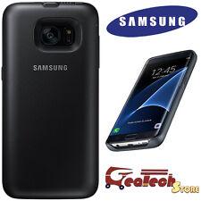 Custodia BACK PACK 3100Mah Originale Samsung Per Galaxy s7 Edge G935F Cover Nera