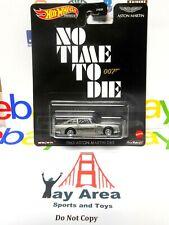 No Time to Die Hot Wheels Premium Aston Martin Car 007 James Bond w/ Real Riders