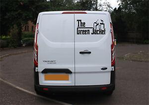 RGJ Royal Green Jackets Godfather style vinyl decal 5-7yr gloss vinyl