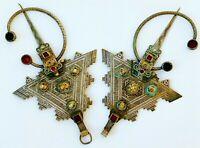 Vintage Moroccan silver Fibula**TIZNIT**