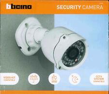 BTICINO 391438 TELECAMERA VIDEOSORVEGLIANZA IP66 KIT VIDEOCITOFONI BIFAMILIARE
