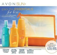 Avon Sun Lotion + Travel Pack *** Free P&P ***