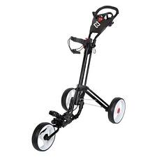 NIBLICK QWIK FOLD 360 GOLF BUGGY  - BLACK - NEW - AWESOME VALUE!!