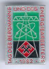 DDR Abz. Tag des Deutschen Bergmanns und Energiearbeiters 1982