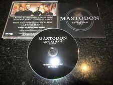 "MASTODON ""LEVIATHAN"" RARE USA CD PROMO SAMPLER (2004)"