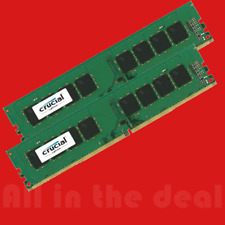 Crucial 8GB Kit 2x 4GB DDR4 2666 Mhz PC4-21300 Desktop Memory DIMM 288-pin