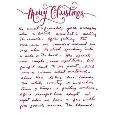 Mascherina Stencil cm.20x15 Stamperia KSD264 - Lettera Merry Christmas