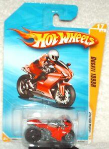 Hot Wheels 2010 New Models # 17 Dugati 1098R red, ex.card, I combine shipping,