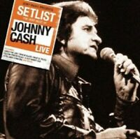 JOHNNY CASH - SETLIST: THE VERY BEST OF JOHNNY CASH LIVE  CD COUNTRY ROCK NEUF