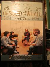 The Squid and the Whale (DVD, 2006, Special Edition)- Laura Linney, Jeff Daniels
