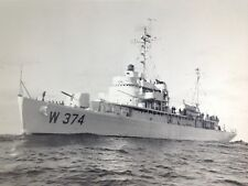 US Coast Guard Official Photograph 16 x 19 3/4 Cutter ABSECON W 374  # 5800