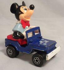 VINTAGE 1977 MATCHBOX PLAYWORN TOY DIECAST CAR MICKEY MOUSE DISNEY SERIES