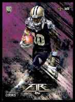2014 TOPPS FIRE PURPLE BRANDIN COOKS RC 360/499 NEW ORLEANS SAINTS #132 PARALLEL