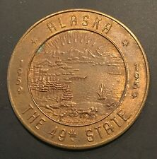 Fairbanks Alaska 49th State So Called Dollar Token Coin Medal