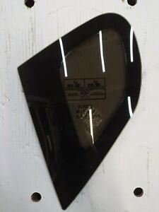 Lexus CT 200h Rear Left Door Corner Quarter Window Glass OEM
