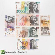 SLOVENIA: Set of 6 Slovenia Tolar Banknotes.