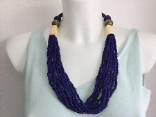 Kette Lapis Lazuli, Horn, traumhaft schön, sehr hoher NP, exclusiv,