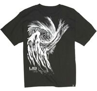 LIB TECH surf skateboard snowboard ski SK8 BANANA T-SHIRT mens SM WHITE New