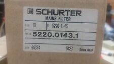 10 X  Schurter     5220.0143.1      AC Power Entry Modules SNAP-IN 2-POLE 1A