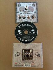 Mononc' Serge & Anonymus – L'Académie Du Massacre CD (2003) Canada Quebec Metal