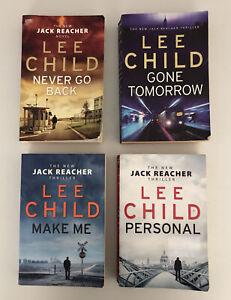 Lee Child - Jack Reacher Bulk Lot - 4 Paperbacks