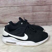 Nike Air Max Oketo AQ2235-002 Black White Mens Sportswear Running Shoes Size 9.5