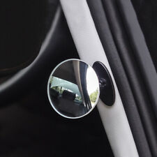 1Piece Adjustable Car Rearview Mirror Blind Spot Side Convex View Wide Angle Van