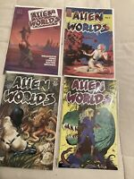 Alien Worlds 1 5 6 PC Comics 1983 And Eclipse Comics Issue 1988 High End lot