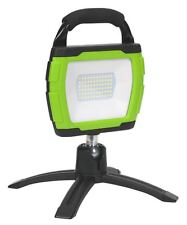 Sealey Rechargeable 360° Floodlight 36W SMD LED Portable Green Lithium-ion