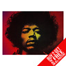 Jimi Hendrix Affiche Poster Artistique A4 A3 Taille - Buy 2 Get Importe 2 Free