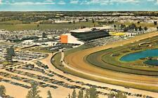 TORONTO, Ontario Canada  WOODBINE HORSE RACETRACK~Bird's Eye  Chrome Postcard