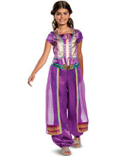 Girls Disney Princess Jasmine Classic Purple Costume