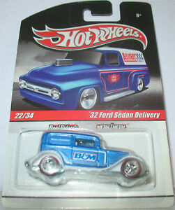 Hot Wheels - 32 Ford Sedan Delivery (2010)