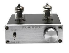 FX Audio TUBE-01 6J1 Amplifier Tube Buffer HIFI Pre-amplifier Silver