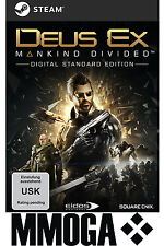 Deus Ex: Mankind Divided Key - STEAM Download Code - PC Spiel NEU [DE][EU][PC]