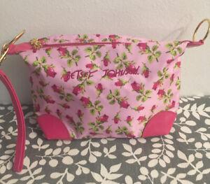 BETSEY JOHNSON Mini Roses Nylon Fanny Pack Belt Bag