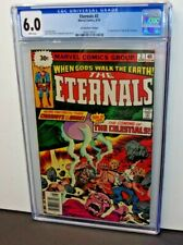 Eternals #2 CGC Graded 1st appearance of THE CELESTIALS 30 cent price variant