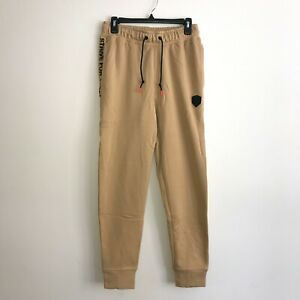 Nike Mens Small Lebron James Strive for Greatness Jogger Pants Beige AT3898-723