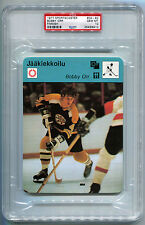 1977 77 Sportscaster Finnish 04-83 Bobby Orr Bruins PSA 10 Gem Mint card Pop 1