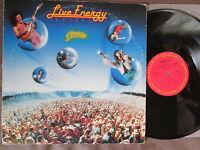 JOURNEY Live Energy DJ COPY JAPAN PROMO-ONLY LP XDAP 93035 Sleeve:ACCEPTABLE