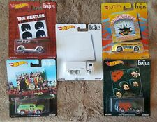 Hot Wheels The Beatles Pop Culture - Full Set OF 5   Plus Yellow Submarine