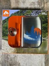 Ozark Trail Outdoor Flask 7.5 Oz With Funnel New Free Shipping
