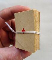 rare ancien mini  jeu de carte en papier