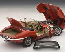 1:18 Autoart Jaguar E-Type 3.8 Roadster Serie 1 carmen red NEU NEW
