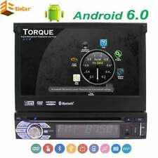 Android 1 Din Car Stereo Quad Core GPS DVD Player Bluetooth Autoradio WiFi OBD2